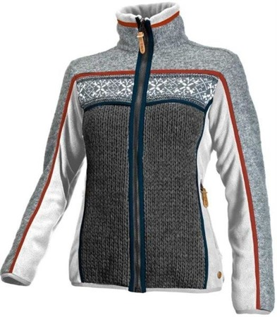Bluza damska WOMEN MEDIUM FLEEC JACKET kremowy