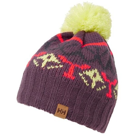 Czapka damska HELLY HANSEN POWDER BEANIE GRAPE