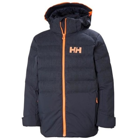 Kurtka juniorska HELLY HANSEN JR NORTH DOWN NAVY